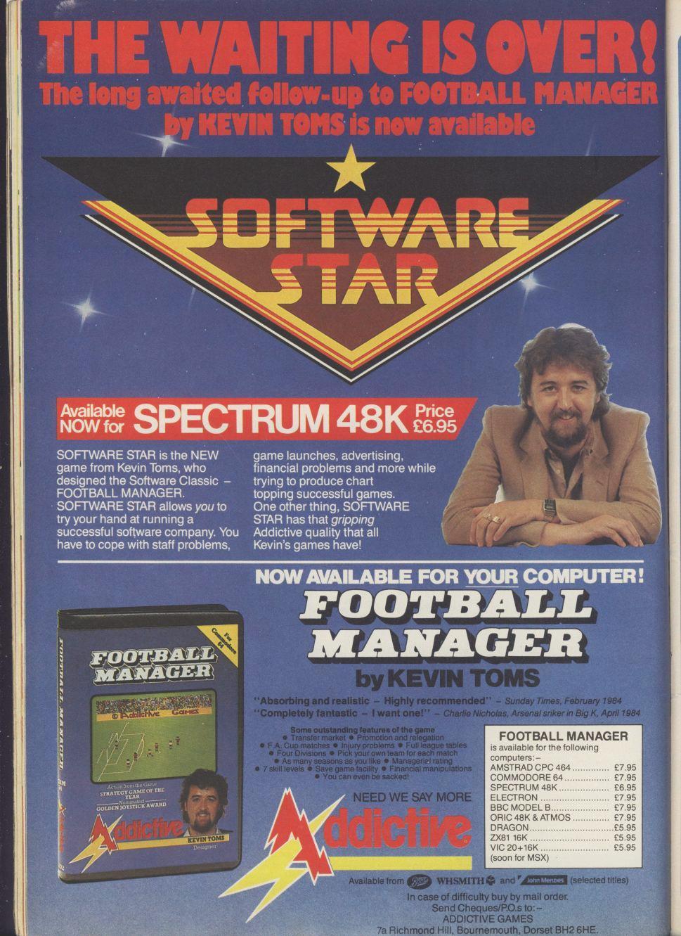 Football Manager Advert From The 1980s : VaporwaveAesthetics